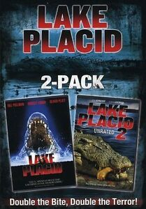Lake Placid/Lake Placid 2 (DVD, 2008, 2-...