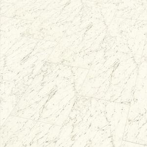 laminat fliese hochglanz superglanz dekor carrara weiss ebay. Black Bedroom Furniture Sets. Home Design Ideas