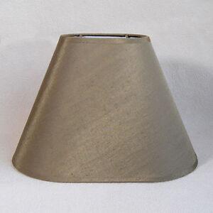 lampenschirm stoffschirm sorpetaler leuchten stoff schirm lampe verde oval ebay. Black Bedroom Furniture Sets. Home Design Ideas