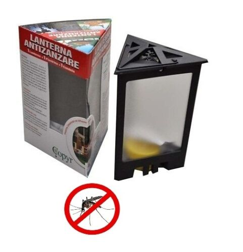 Lanterna Antizanzare Anti Zanzare Piretro Zanzaricida
