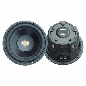 "Lanzar MAXP104D 1-Way 10"" Car Subwoofer"