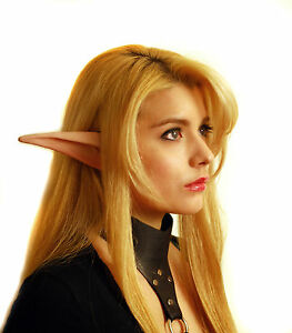 Large Manga Anime Elf Ears Latex Painted Light | eBay