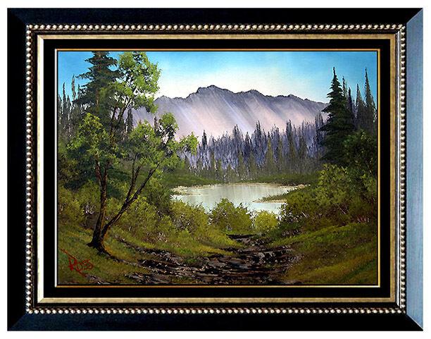 1000 images about bob ross on pinterest bob ross bob for Original artwork for sale online