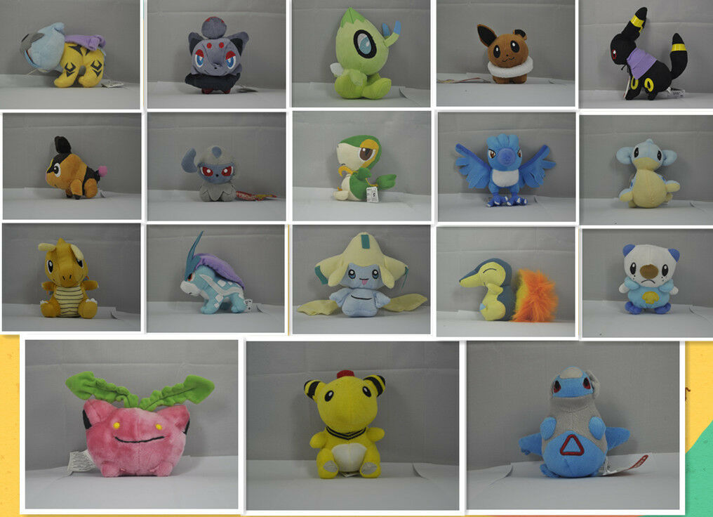 Large Collection New pokemon Character Soft Stuffed Animal Plush 18