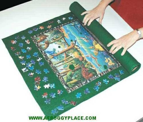 "Large Jigsaw Puzzle Mat Roll-Up 36"" x 48"" for 2000 pc Free Shipping New in Wrap in Toys & Hobbies, Puzzles, 1970-Now 