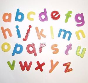... Case Magnetic Letters / Fridge Magnets - Full Alphabet A-Z | eBay