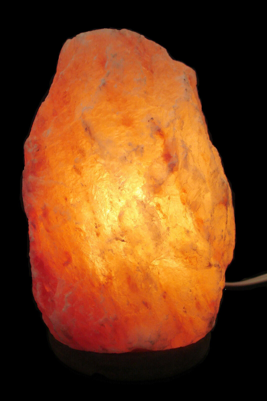Lg himalayan salt rock lamp 6 9 in 4 7 lbs ionic air for Large salt rock lamp