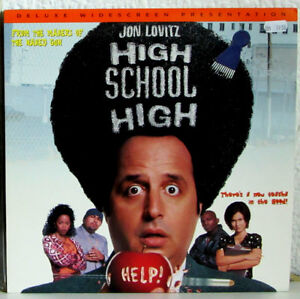 Laserdisc HIGH SCHOOL HIGH Jon Lovitz, Tia Carrere - A David Zucker production - Deutschland - Laserdisc HIGH SCHOOL HIGH Jon Lovitz, Tia Carrere - A David Zucker production - Deutschland
