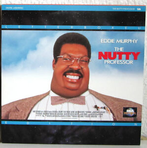 Laserdisc THE NUTTY PROFESSOR Eddie Murphy Der verrückte Professor - Deutschland - Laserdisc THE NUTTY PROFESSOR Eddie Murphy Der verrückte Professor - Deutschland