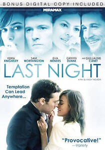 Last Night (DVD, 2011)