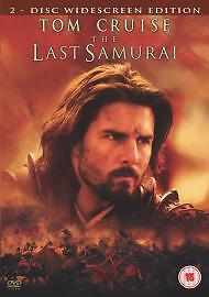 The Last Samurai (DVD, 2004, 2-Disc Set)