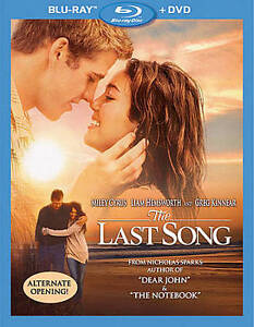 The Last Song (Blu-ray/DVD, 2010, 2-Disc...
