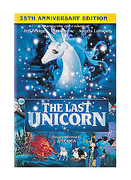 The Last Unicorn (DVD, 2007, 25th Annive...