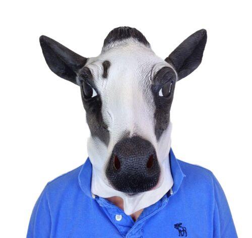 Overhead Milk Cow Mask Movie Quality Farm Animal Moo Fancy
