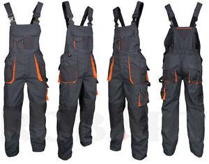 Latzhose-Arbeitshose-Kombihose-Arbeitskleidung-Berufsbekleidung-NEU-Gr-44-64