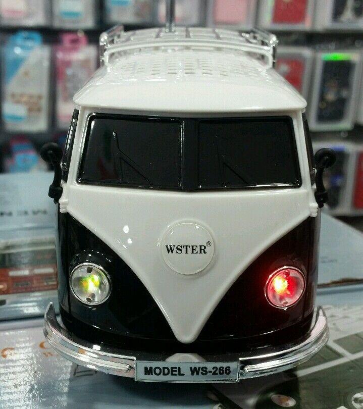 lautsprecher modell vw t1 bulli mp3 usb radio volkswagen. Black Bedroom Furniture Sets. Home Design Ideas