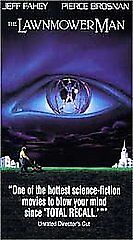 The Lawnmower Man (VHS, 1992, Unrated Di...