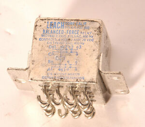 Leach-balanced-force-relay-KA-D2F-002-Relais