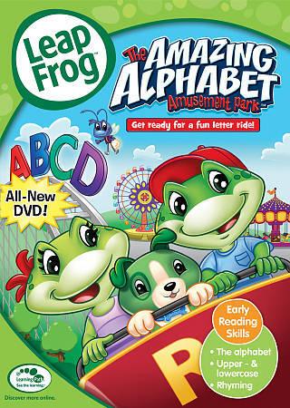 LeapFrog The Amazing Alphabet Amusement Park DVD, 2011