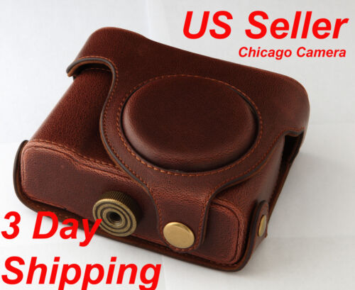 Leather Case for Canon Powershot G15 US Seller 3 Day Shipping 30 Day Money Back in Cameras & Photo, Camera & Photo Accessories, Cases, Bags & Covers | eBay