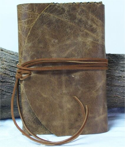 Leather Journal Diary Planner Writing Travel Book Agenda 8X5.5 200 pages in Books, Accessories, Blank Diaries & Journals | eBay