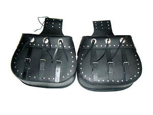 Leather-Motorcycle-Throw-overs-Saddle-Bags-Saddlebags-Panniers-Pair