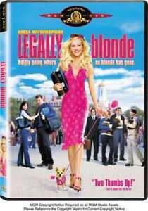 Legally Blonde (DVD, 2001, Valentine Fac...