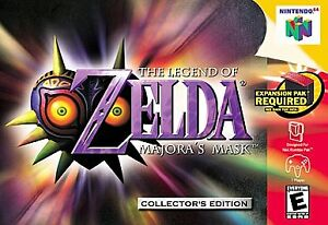 The Legend of Zelda: Majora's Mask  (Nin...
