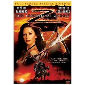 The Legend of Zorro (DVD, 2006, Full Scr...