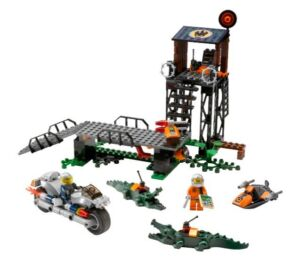 Lego Agents Mission 2 Jagd im Sumpf  863   Lego Agents Mission 2