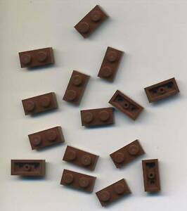 Lego-Basic-Platten-1x2-in-neu-Braun