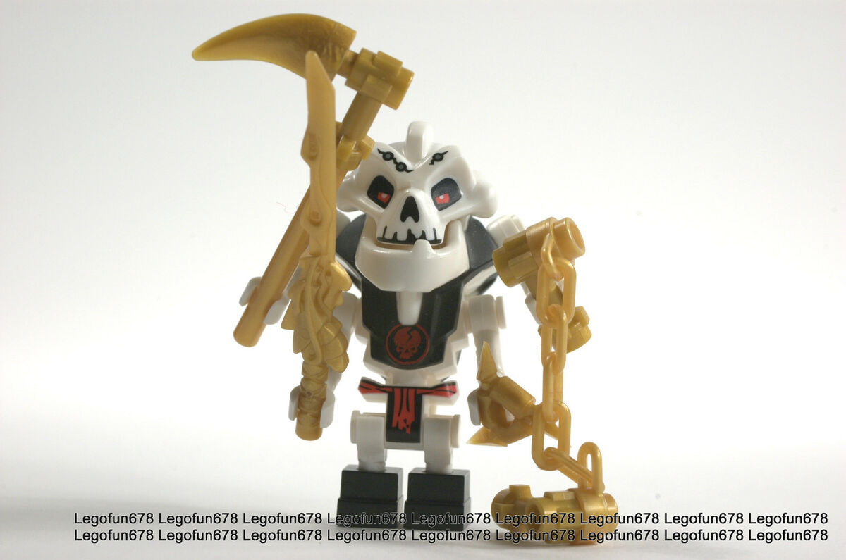 Lego New Rare Ninjago Samukai Minifigure w/Golden weapon ...