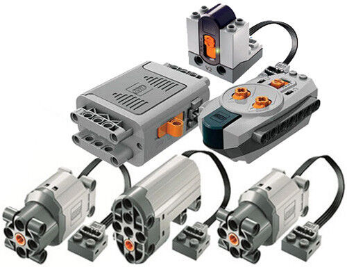 Lego Power Functions Set 5 Technic Motor Receiver Remote