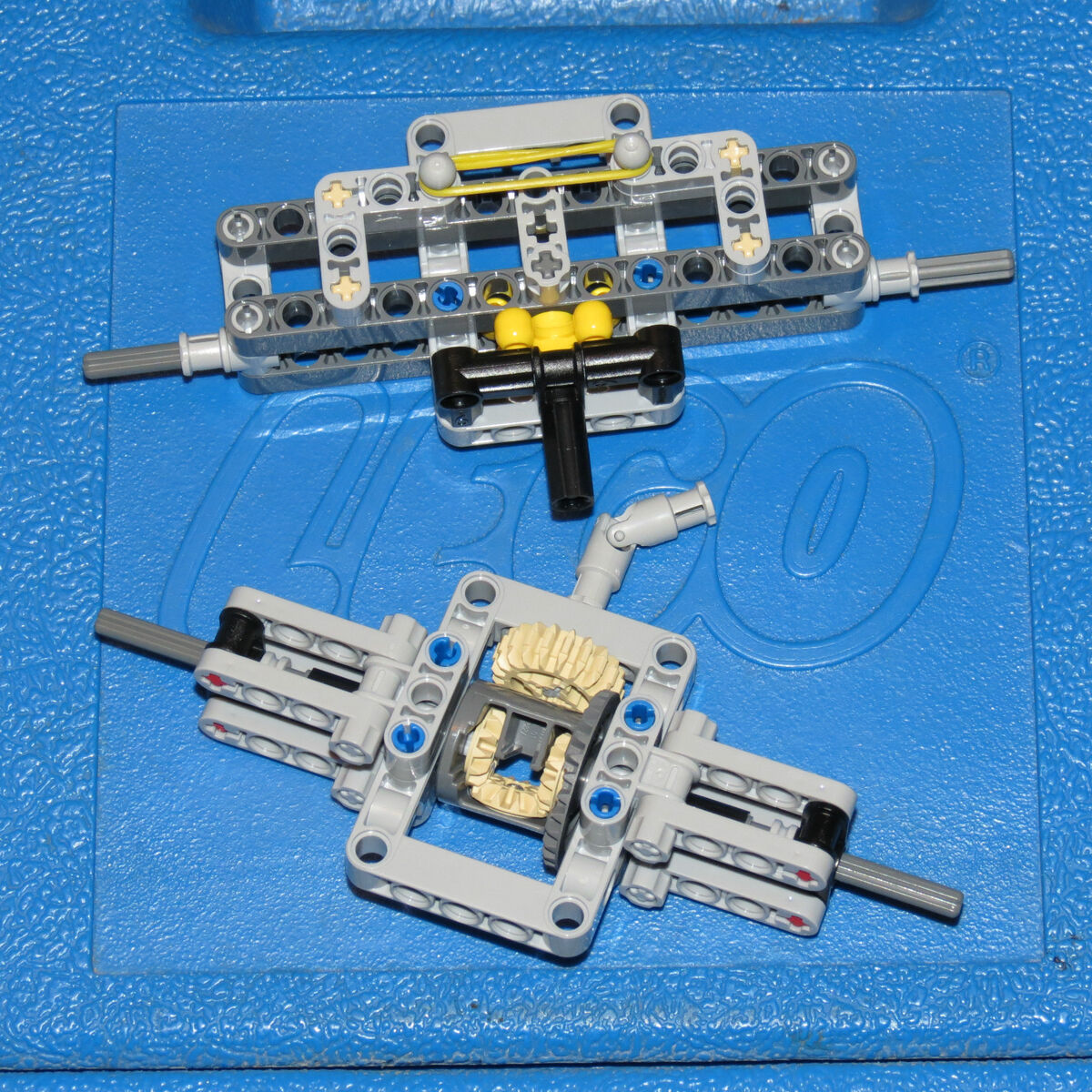 Lego Technic Rear Differential Custom Return To Center Steering
