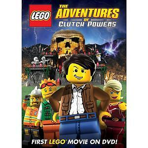 Lego the adventures of clutch powers 2009 dvd kids for Cover jones motor company