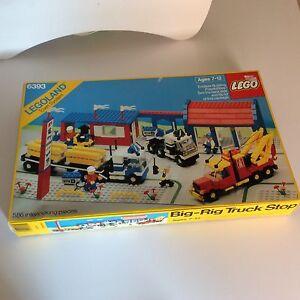 Lego-Vintage-6393-Big-Rig-Truck-Stop-Rare-Misb-sealed