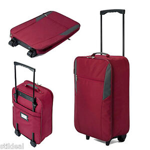 leichter faltbarer koffer handgep ck trolley nur 1 2 kg. Black Bedroom Furniture Sets. Home Design Ideas