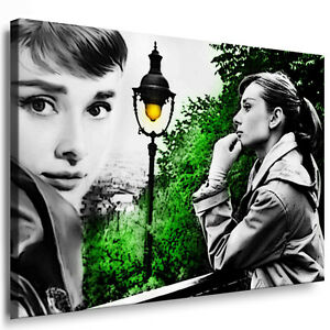 leinwandbilder org audrey hepburn druck auf leinwand wandbild kunstdruck poster ebay. Black Bedroom Furniture Sets. Home Design Ideas