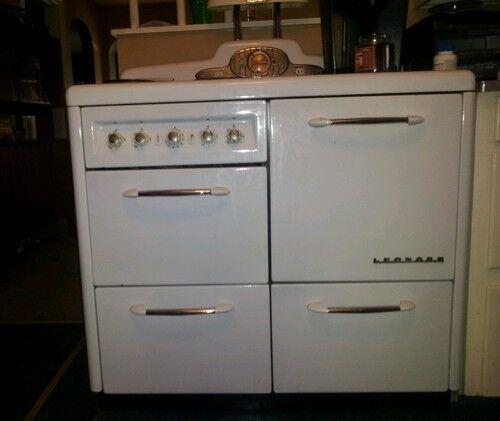 Leonard electric antique modern porcelain white trendy shiq stove pickup in Antiques, Home & Hearth, Stoves | eBay