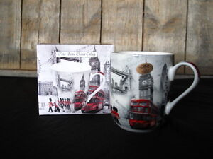 leonardo collection fine bone china london becher tasse ebay. Black Bedroom Furniture Sets. Home Design Ideas