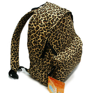 Leopard-Animal-Print-Backpack-BAG-school-bag