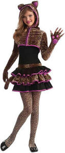 leopard katze tiger karneval fasching kinder kost m 140. Black Bedroom Furniture Sets. Home Design Ideas