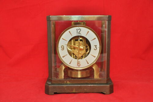 LesCoultre Swiss Atmos Clock in Collectibles, Clocks, Vintage (1930-69) | eBay