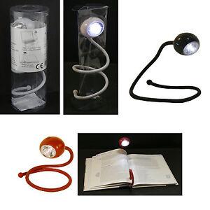 leselampe flex led lampe tischlampe flexarm tischleuchte schreibtisch batterie ebay. Black Bedroom Furniture Sets. Home Design Ideas