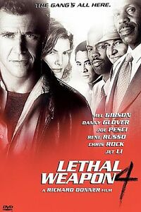 Lethal Weapon 4 (DVD, 1998, Premiere Col...