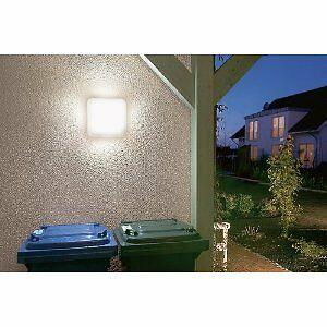 leuchte f r garage balkon terasse treppenhaus au en garten keller octo 9w ebay. Black Bedroom Furniture Sets. Home Design Ideas