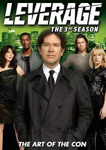 Leverage: The 3rd Season (DVD, 2011, 4-D...