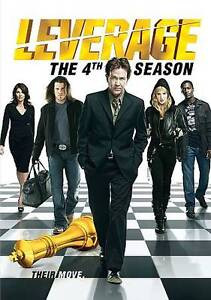 Leverage: The 4th Season (DVD, 2012, 4-D...