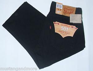 Levi-s-Jeans-501-BLACK-Groessen-nach-Vorrat-Herbst-WinterSpeziell-nur-64-99