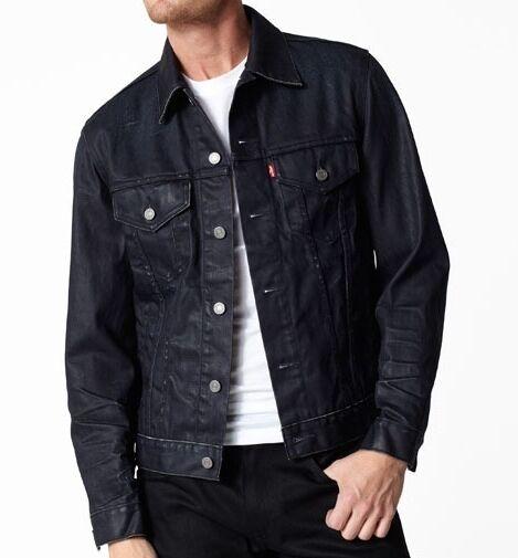Levi's Men's Slim Fit Trucker Jacket Clean Shaven